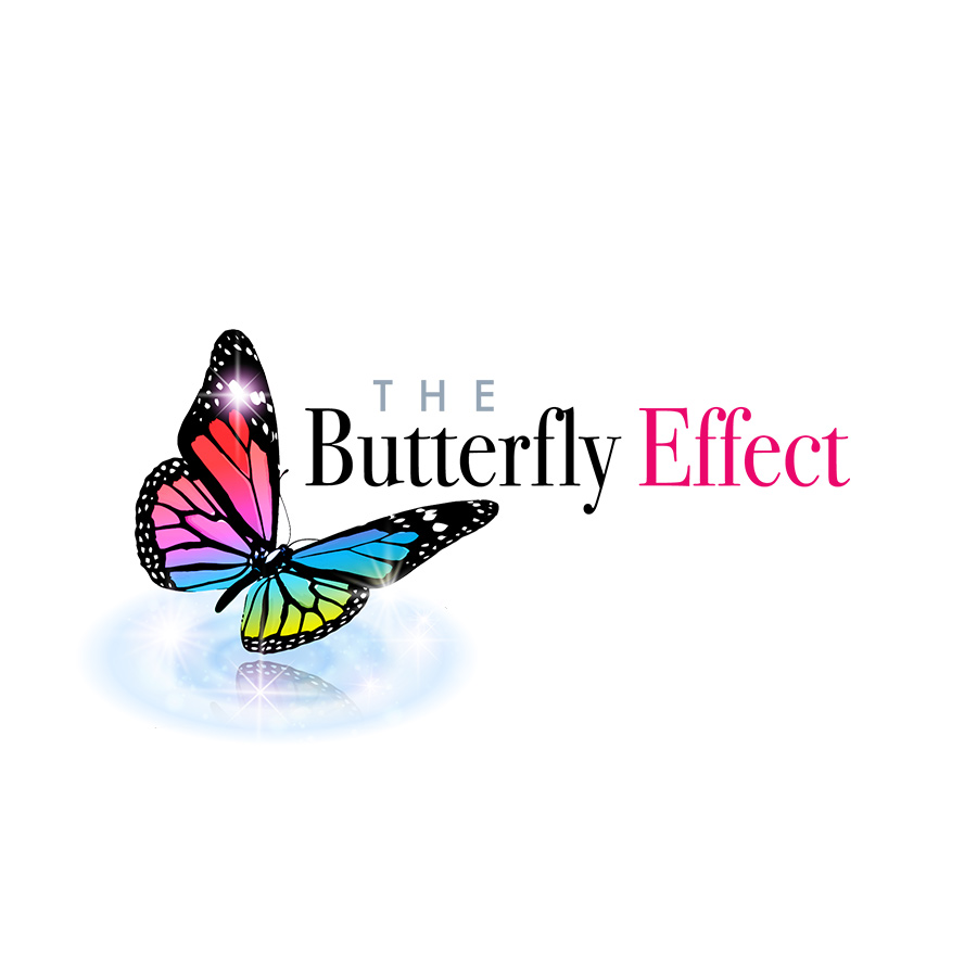 the butterfly effect logo design