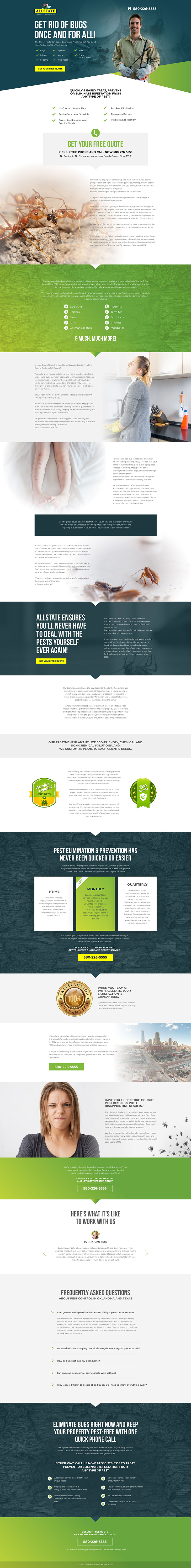 ALL STATE PEST SERVICE-LANDING PAGE
